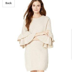 BB Dakota Honey Ruffle Sweater Dress